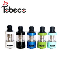 Tobeco Authentic Super Tank with 6ml capacity hot sale with Mini Super tank rba 6 colors with colorful glass tube !