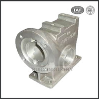 supplier cnc machining non standard die cast aluminum reducer shell