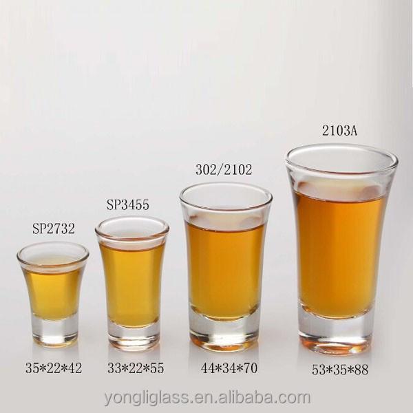 Shot glass size
