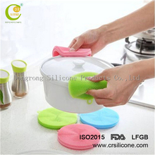 Amazon hot selling Silicone AntiBacterial Washing Cleaning Dish Soft rubber silicone dish scrubber