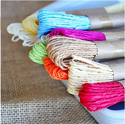 Reasonable price superfine eco friendly paper yarn