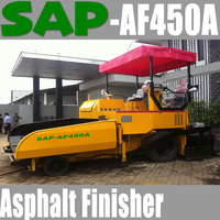 SAP-AF450 Asphalt Paver Tyre Type 4.5m Ready Stock in China / Indonesia