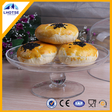 New Arrival Hot Sale Elegant Crystal Clear Glass Cake Stand from Anhui Faqiang