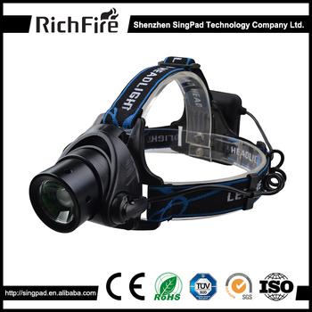 Camping light 1000 lumen rechargeable led waterproof headlamp