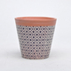 Personalized decoration hand made clay mini plant pots indoor cheap terracotta bonsai pot