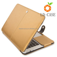 Genuine Leather Laptop Flip Cover Case for Tablet