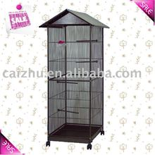 Metal chrome bird cage