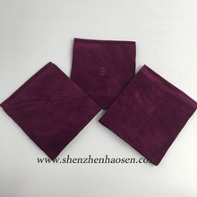 Beautiful Double Side Velvet Envelope Flap Style Pouch For Mirror