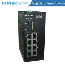 Super stability 3G+7-Port IP40 Managed Industrial network Switch i610A