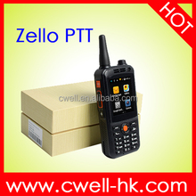 Zello PTT Android 4.4 Smart Mobile Phone With Walkie Talkie Function 2.4 inch Dual Core 512MB RAM 4GB ROM 5mp 3500mAh battery