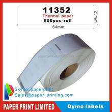 Dymo labels 11352 with high quality roll shipping mark labels