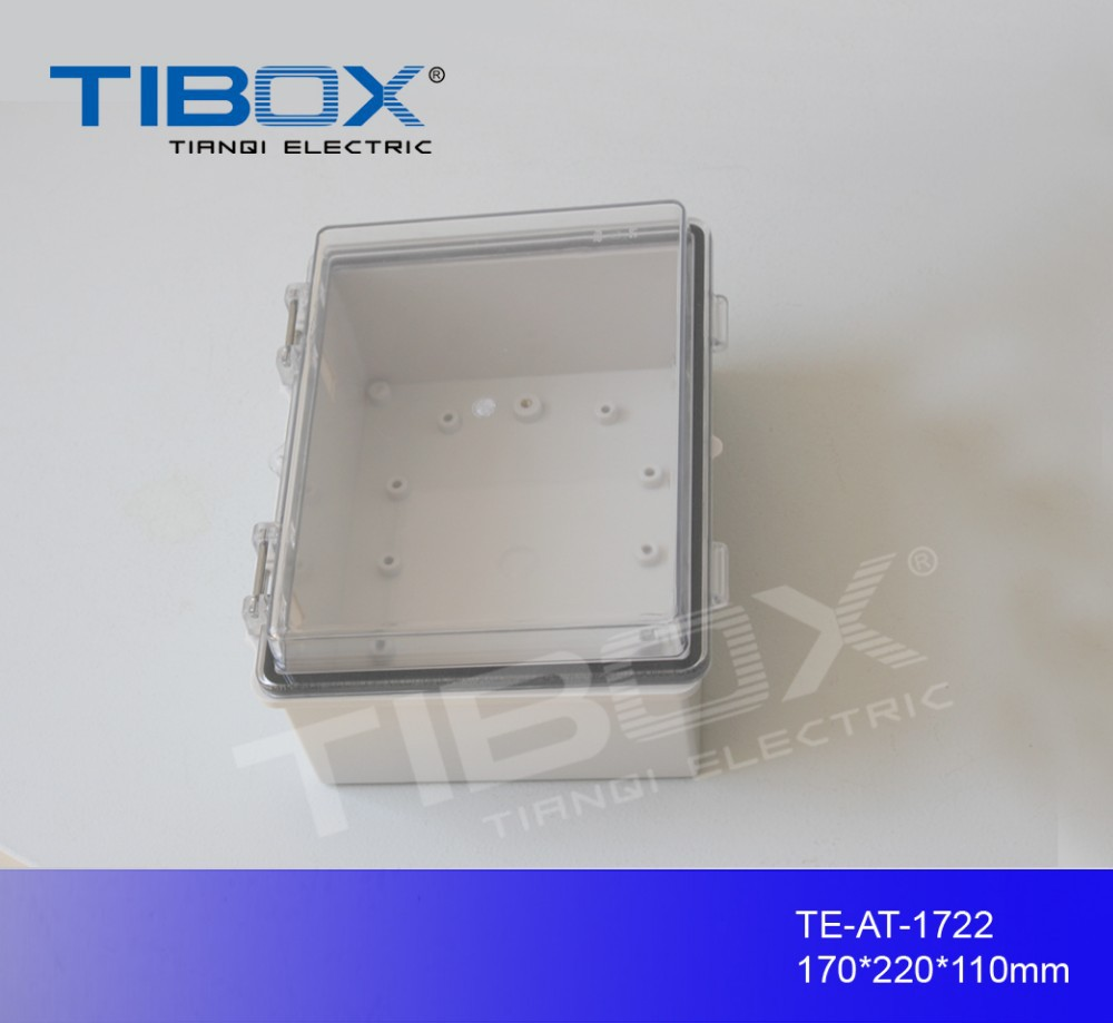 IP66 PC/ABS waterproof plastic enclosures for electronics