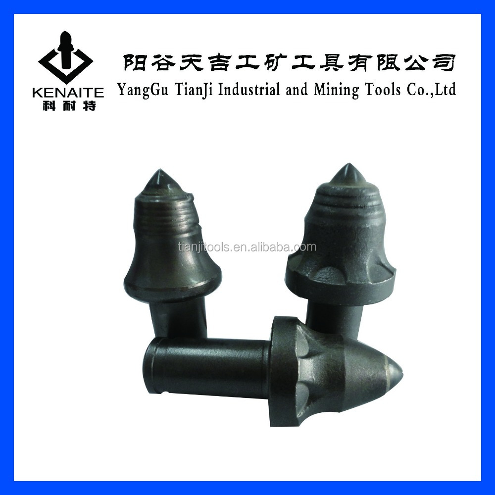 Tungsten Carbide tipped tunnel boring picks round shank picks in factory price KENAITE