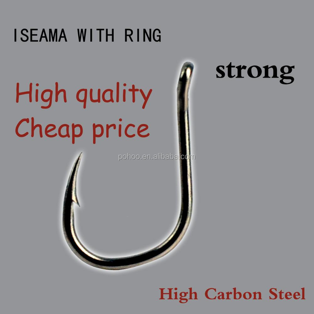 "100 high quality Ringed fishing hook size 1# hook type /""CHINU/"""