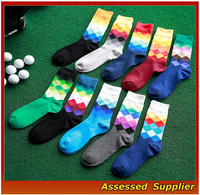 WH-85 Wholesale Business Stripe Sock And Cheap Custom Logo Sock, Bulk Thin 100 Cotton Elite Custom Dress Socks