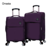 carry on size 20''24''28'' new arrival nylon trolley suitcase factory made soft travel luggage