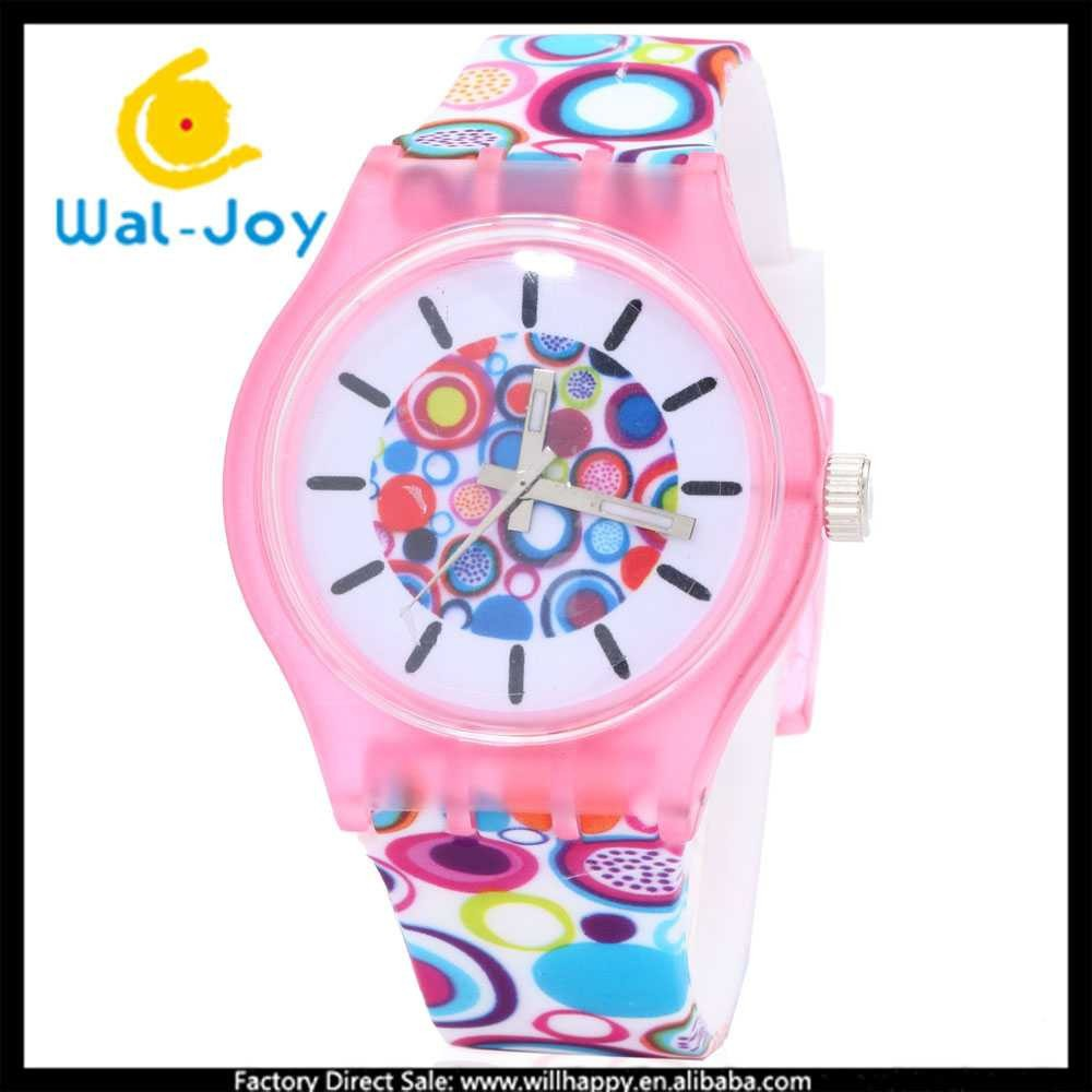 WJ-4252-3 Popular trendy custom factory direct simple design cheap silicon women wrist watch