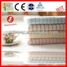 factory wholesale plain dyed 100 cotton fabric for t shirt factory