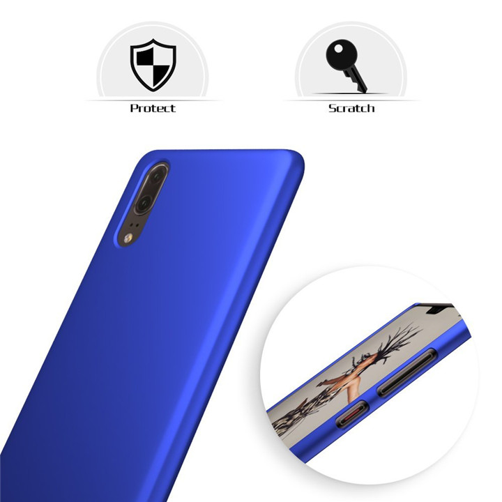 Rubberized Cover For Huawei P20 Ultra Slim Case Cover For Huawei P20 Back Case