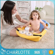 best-selling KaQibear lovely baby plastic bathtub without lying rack