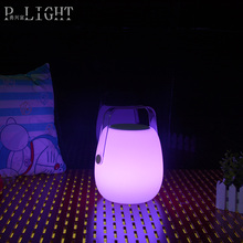 New coming products cheapest portable led flashing music cube speaker