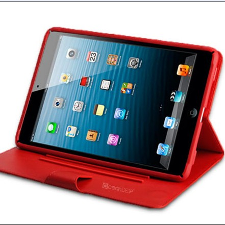 2014 innovative high quality leather case for ipad mini tablet