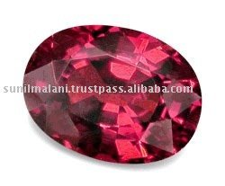 Natural Rhodolite Garnet Oval Cut Loose