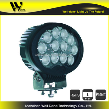 super power Working Lighting, IP68, 120w oval led work light for mining