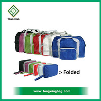 Simple and Portable Foldable Travel Bag