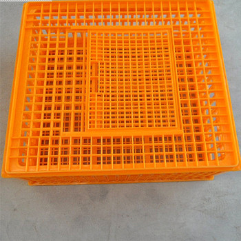 Newest PP material hot sale durable plastic chicken transport box