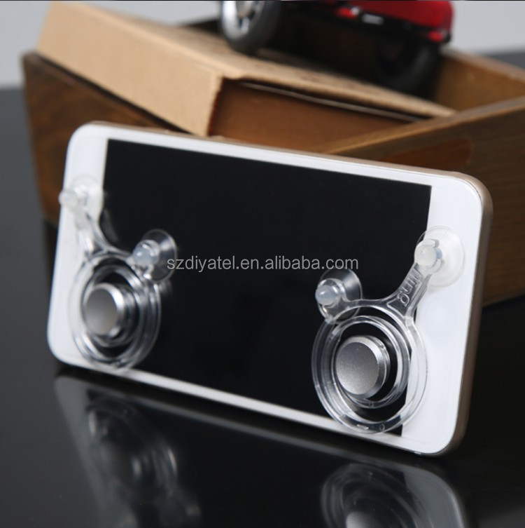 Mobile Phone Game Joystick Rocker Touch Screen Joypad 2 PCS For iPhone/Ipad/ Android Mobile