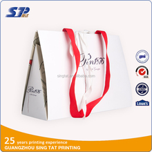 Factory stock cheap paper packing wrist bag price