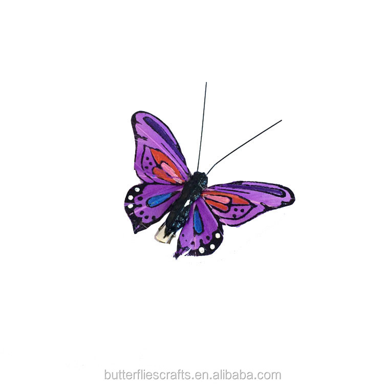 Artificial butterfly for wedding decorations and floral arrangement