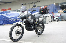 2014 newest 400cc motorcycle with side box