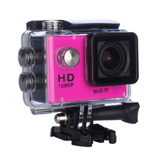 Shenzhen Full HD 1080P Digital Waterproof Helmet Video Camera Underwater 30m Sport Wireless Action Camera
