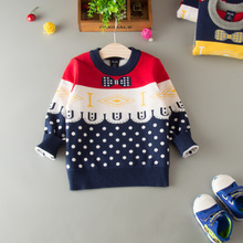 HT-BBSS new style fashion gentleman baby boy sweater designs simple designs for children wool sweater