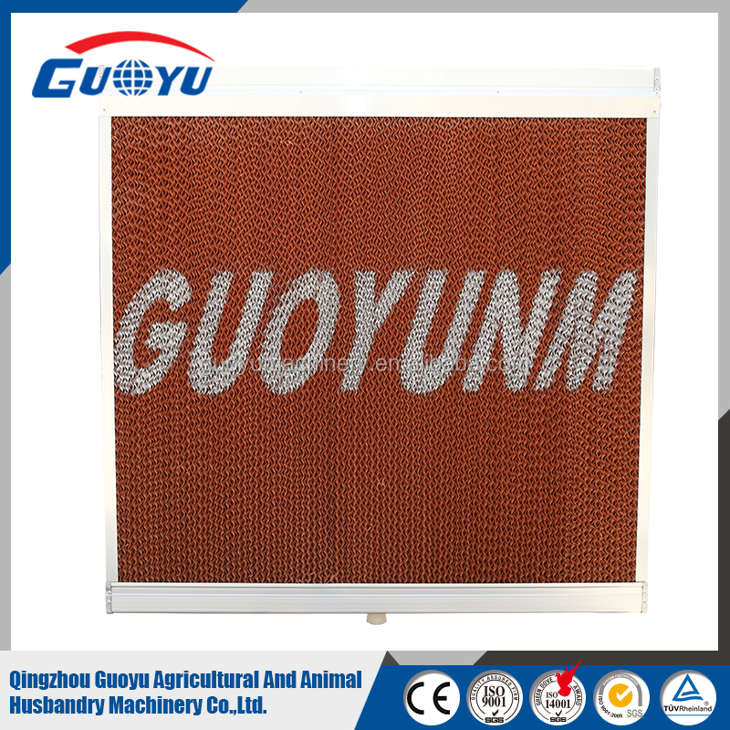 Cooling Pad for Poultry Farm Corrugated Cellulose Evaporative Cooling Pad