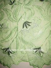 P2158 wholesale 2012 cotton embroidered fabric