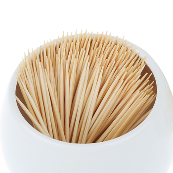 Food Grade Disposable Bulk Natural Bamboo Color Toothpick