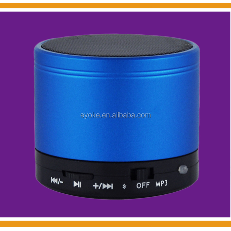 Logo printed Cheap Mini Wireless Bluetooth Speaker with Microphone