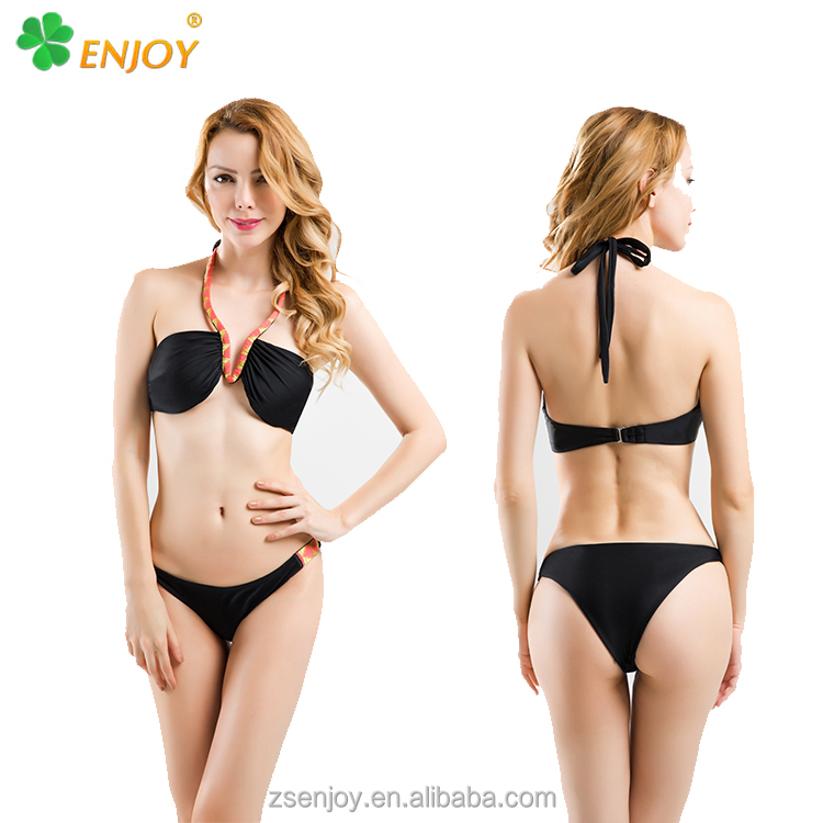 Latest fashion bikini manufacturer , sexy mature women push up sexi open bikini bra