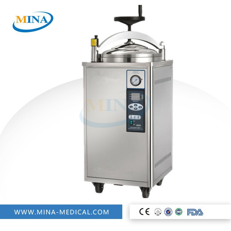 Digital High Pressure Vertical Steam Autoclave Sterilizer - industrial water distillers