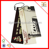 Customized paper tag label