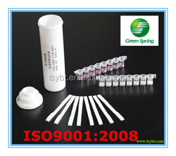 Quinolone rapid test strips milk antibiotic test 96 strips/kit