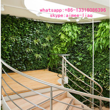 Q080906 office decoration ornamental plants artificial plant wall realistic artificial green wall