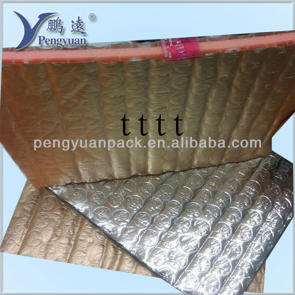 Aluminium foil Bubble XPE foam fireproof material thermal insulation
