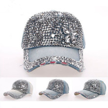 Trade assurance wholesale fashion japanese baseball caps with rhinestone