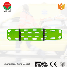 Medical appliances plastic rescue spinal stretcher fixation board