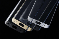 QWD Mobile Factory Supply 3D Tempered Glass Screen Protector for Samsung S6 edge High End with Good Prices