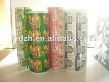 Lidding Film for Sealing Plastic Fruit Jelly Cup
